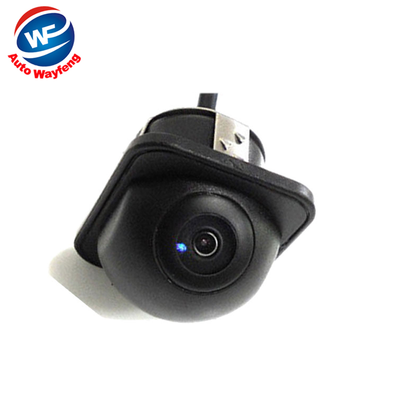 For 170 Wide Angle Night Vision Car Rearview Rear View Camera Front Camera Viewside Camera Reverse Backup Color Camera(China (Mainland))