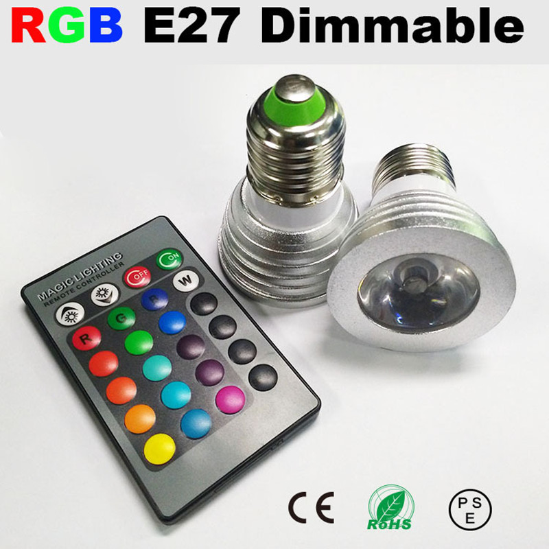 3w 4w 5w e27 spot led light lamp bombillas led lamparas de - Luces led para casa ...