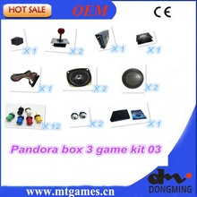Jamma Arcade game kit pandora box 3/520 in1 arcade kit /spare parts to built Bar-top arcade machine or upright arcade machine(China (Mainland))
