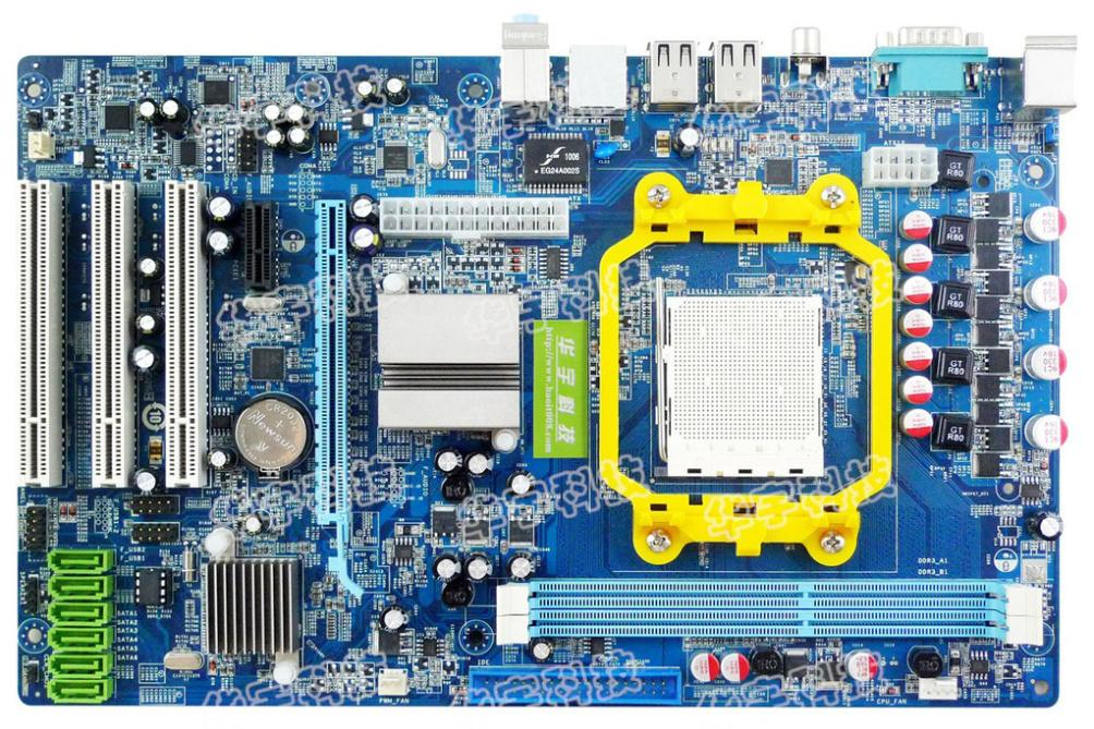A770 motherboard ddr3 type large-panel quad-core 5 gigabit network card acc 3<br><br>Aliexpress