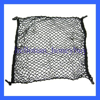 Trunk Storage Nylon Elastic Mesh Net 4 Hooks Fit For 2007-2012 Honda CRV CIVIC