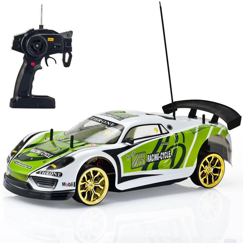 Newest RC CAR 4WD 1:10 DRIFT RACER Professional rc drift car racing remote control car 35-45KM/H With light rechargeable(China (Mainland))