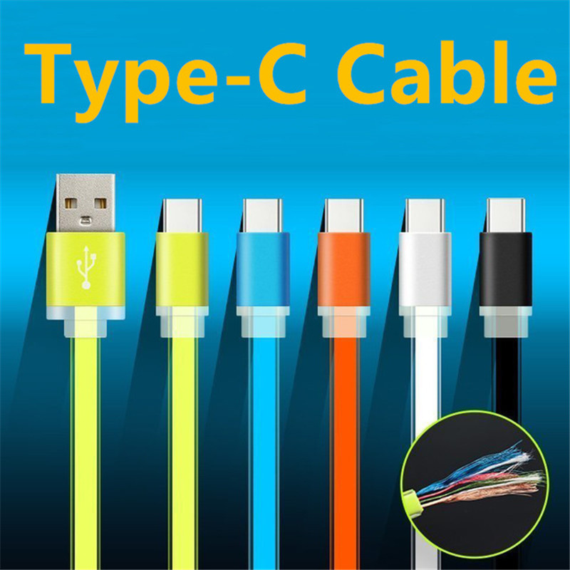 USB 2.0 Type-c Cable Charging Powerbank USB-C Type c Adapter MacBook Huawei P9 Xiaomi Mi Mi4C Mi5 Nokia N1 oneplus 2 3 Letv  -  SIANCS Phone Accessories Store store