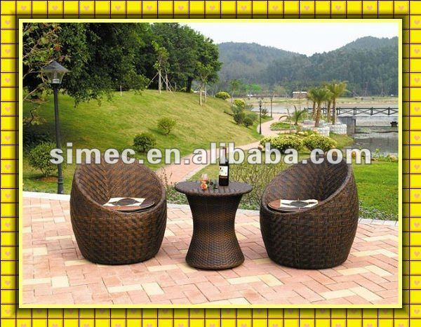 poly rattan garden furniture SCAC-017