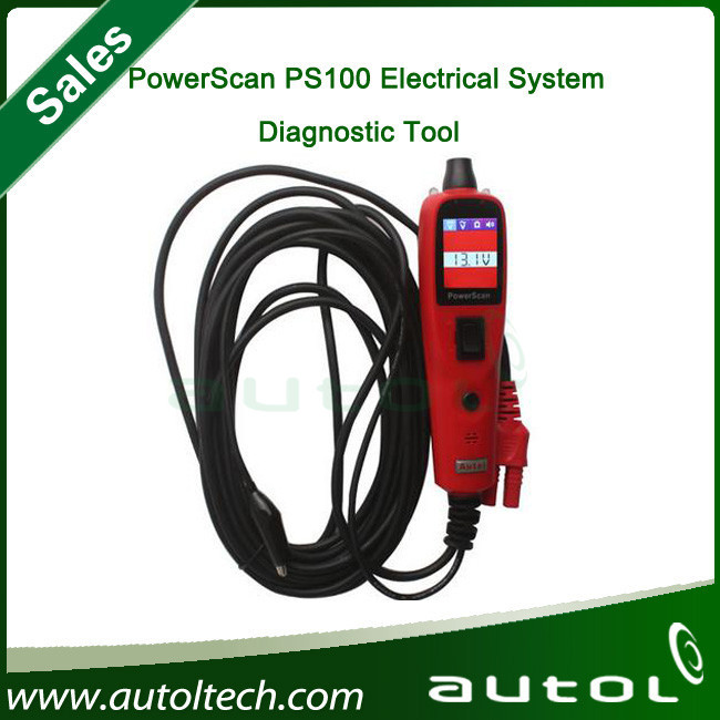 Selling Best! 2015newest 100% Original AUTEL PowerScan PS100 Electrical System Autel PS100 auto Scanner(China (Mainland))