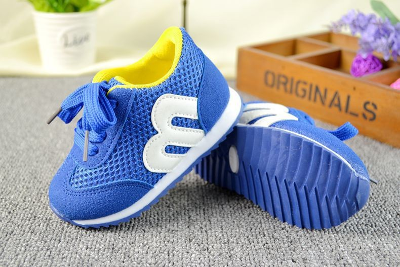2016 baby prewalker sport shoes ventilation soft sole non slip spring and autumn boys and girls