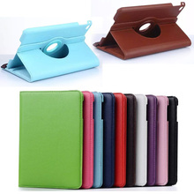 Buy 360 Rotating PU Leather Case cover Apple iPad mini 4 7.9 inch Smartcover stand case ipad mini4 tablet bags MA214D for $8.99 in AliExpress store
