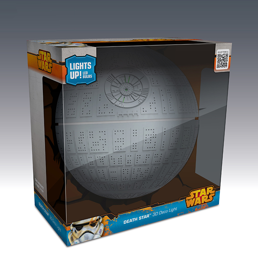 Star Wars Wall Decor Lights : light up decor Picture - More Detailed Picture about Dreammaster Creative Star Wars Death Star ...