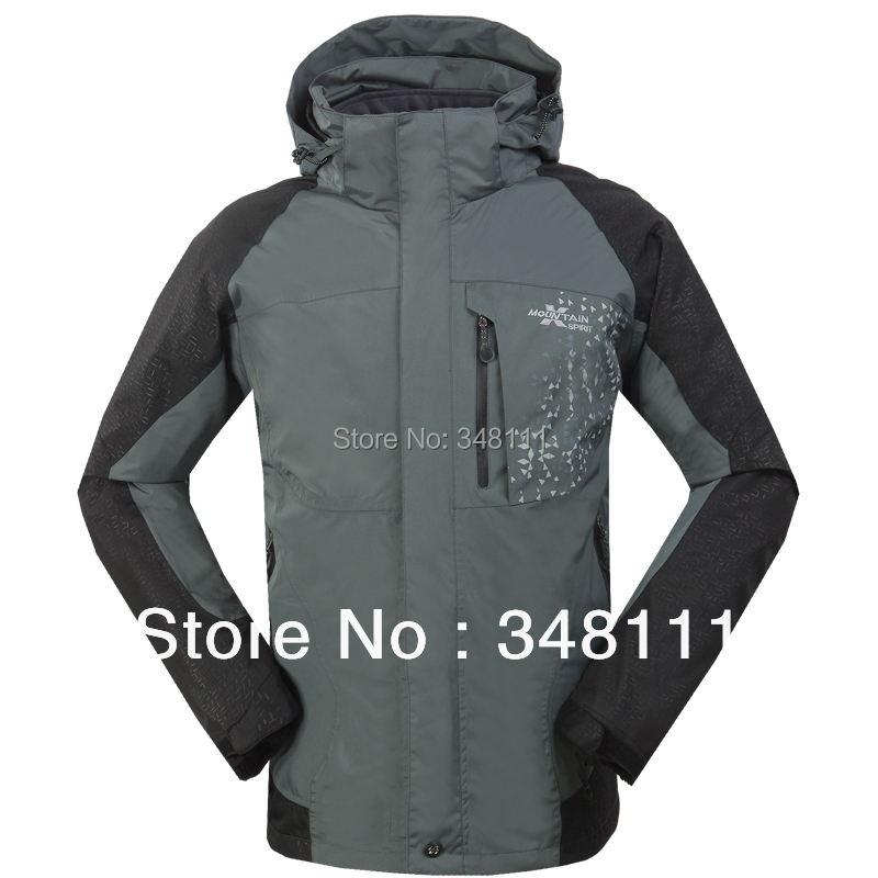 Men fashion jacket windproof waterproof outdoor camping warm piece fitted - Integrity of shop store