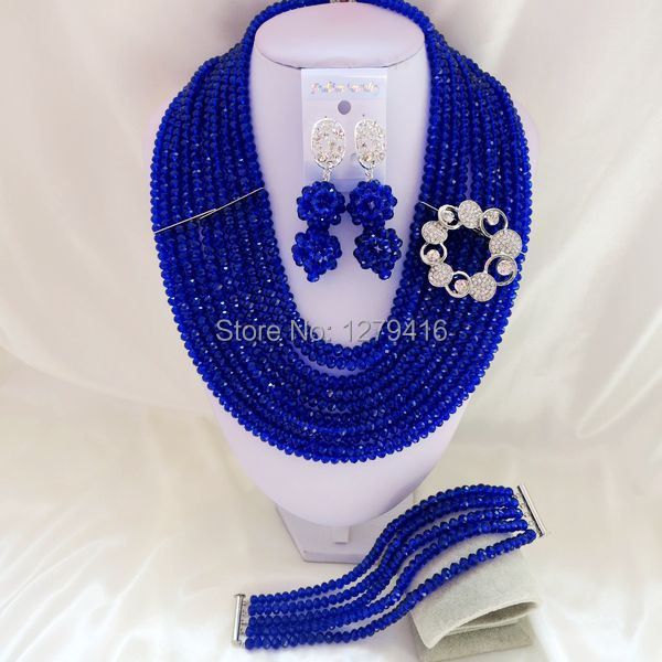 Pearl wedding suit in Nigeria, Africa beads, crystal necklace bracelet earrings suit us and Europe  T-1770<br><br>Aliexpress