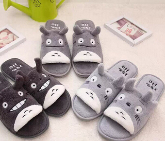 Lovely cat lovers slippers Age season fish mouth open-toed sandals Lovers female household shoes<br><br>Aliexpress