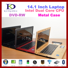 14.1 Inch Notebook, Laptop Computer with Intel D2500 Dual Core 1.86Ghz, 2GB DDR3 RAM+160GB HDD, DVD-RW, WIFI, Webcam, Flash 11.2