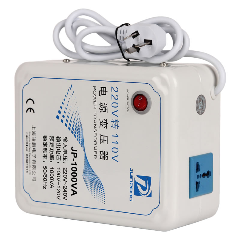Фотография Transformer 220V to 110V 1000W electrical sweeping machine toilet cover special factory direct