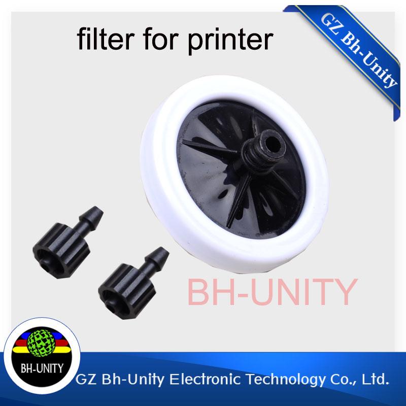 Best quality!! big dish UV ink filter and 45mm big dish UV ink filter for gongzheng polaris printhead UV flated printer(Hong Kong)