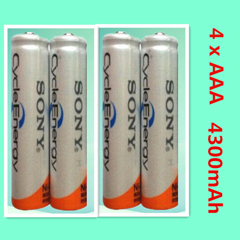 Гаджет  Brand New high quality NI MH - AAA HR03 AAA Rechargeable Batteries For