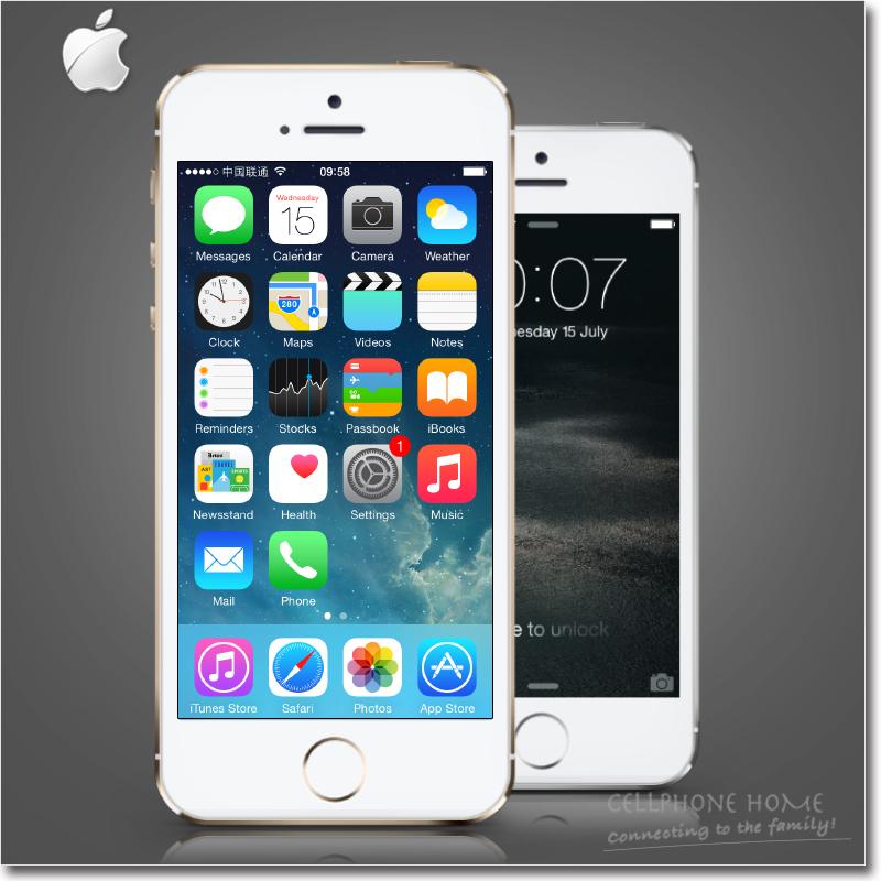 "Original i5s Unlocked Apple iPhone 5S phone 32GB ROM IOS 8 Dual-core A7 3G GPS WIFI 8MP 1080P 4.0"" HD Used Smartphone(China (Mainland))"