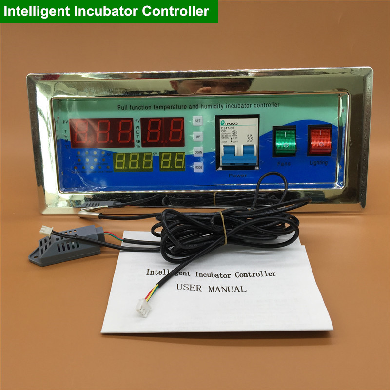 1 Set Of Modern Incubators Accessories Automation Controller With Temperature And Humidity Probe(China (Mainland))