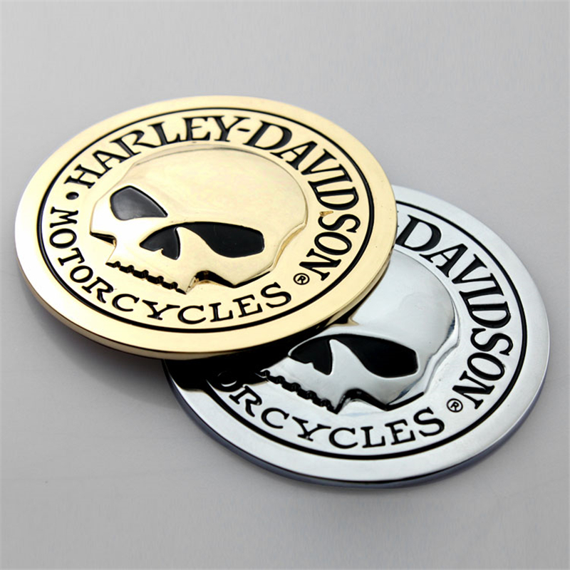 Decocation Car Motorcycles 3D Skull Car Stickers Metal Ghost Auto Moto Decal Halloween Sticker Car Styling Free Shipping(China (Mainland))