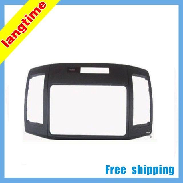 Free shipping-Car refitting DVD frame,DVD panel,Dash Kit,Fascia,Radio Frame,Audio frame for Toyota Allion 240,2DIN