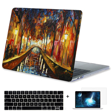 Buy Oil Painting Crystal Print Plastic Hard Case New Macbook Pro 13 15 Touch Bar A1706 A1707 Sleeve & without Touchbar Case for $22.94 in AliExpress store