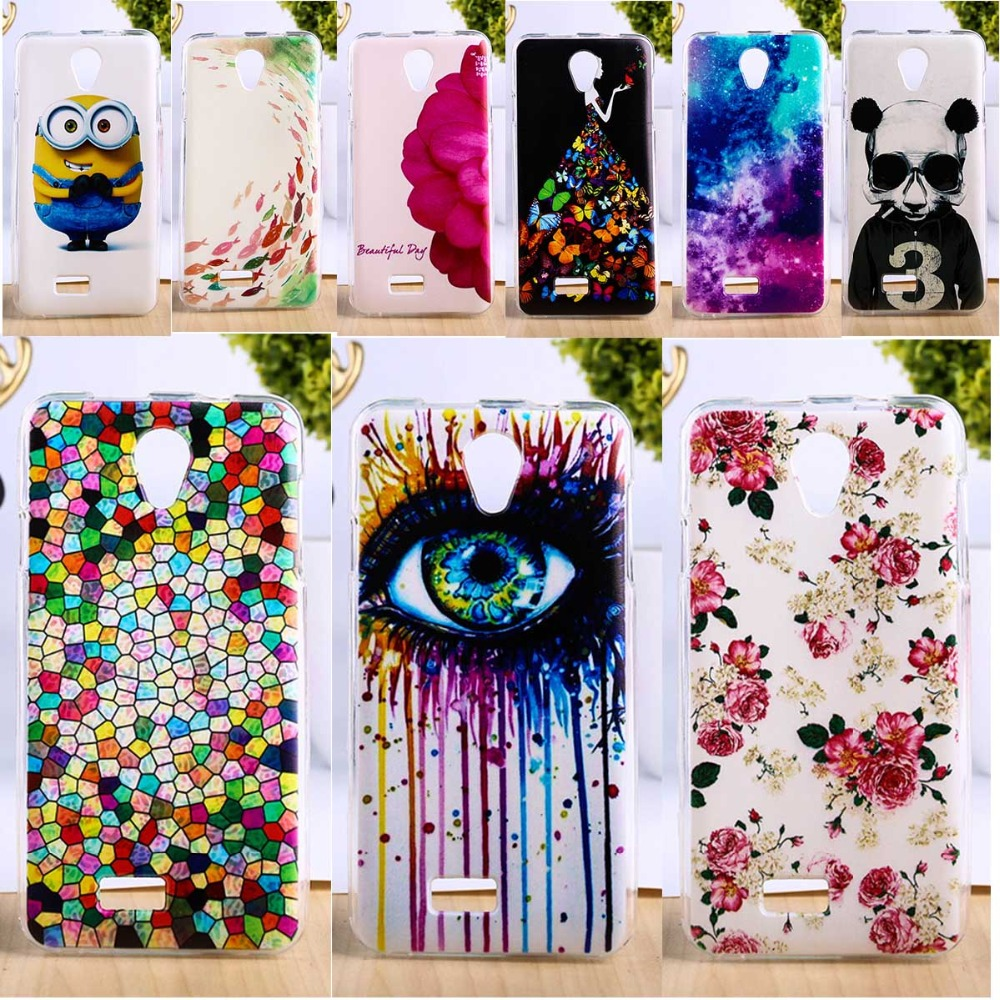 DIY Painted Soft TPU Phone Cover For Fly IQ4416 4.5 inch Cases New Fashion Cell Phone Smartphone Shells Hoods(China (Mainland))