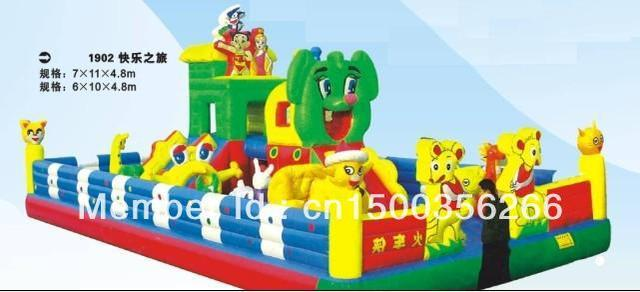 Large inflatable toys, inflatable castle trampoline Trampoline inflatable castle inflatable castle jump bed
