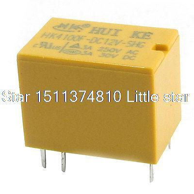 HK4100F-DC12V-SHG 12VDC Coil 6 Pins Relay for Automatic Control System(China (Mainland))