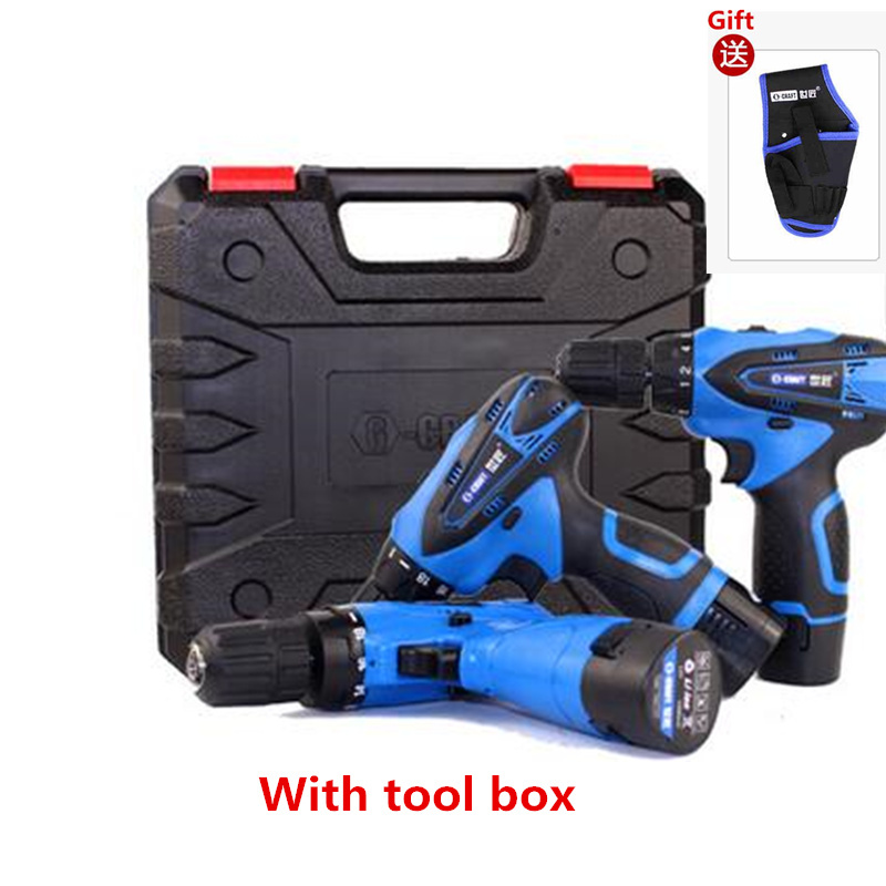 12V Electric Screwdriver Lithium Battery Rechargeable Parafusadeira Furadeira power tools screwdriver Cordless Electric Drill(China (Mainland))
