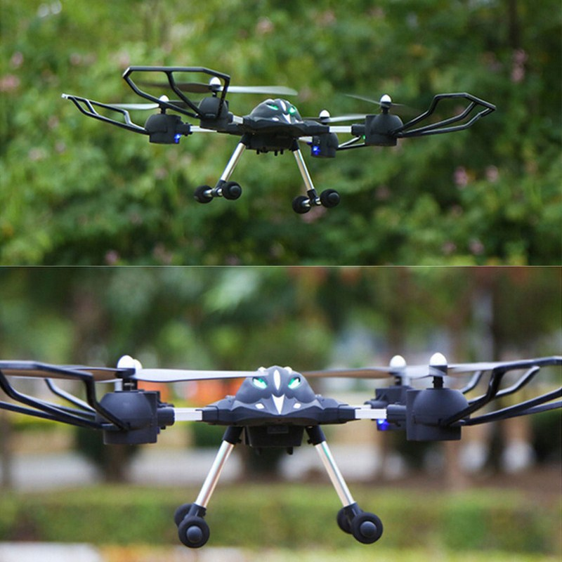 2.4G 4-axis Huajun HJ823 Remote Control RC Helicopter with 200w HD Camera FPV Quadcopter RC Model Drone Flying Toy<br><br>Aliexpress