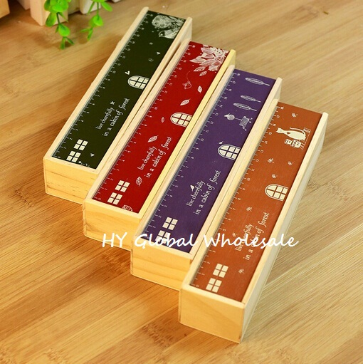 New Vintage Happy House series Classic wooden pencil case/DIY Multifunction Pencil box/clean up box/nice gift/Wholesale(China (Mainland))