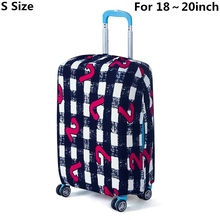 Outdoor on Road Luggage Cover Antifouling Protective Suitcase Trolley case Fashion Travel Luggage Dust cover for 18 to 30inch(China (Mainland))