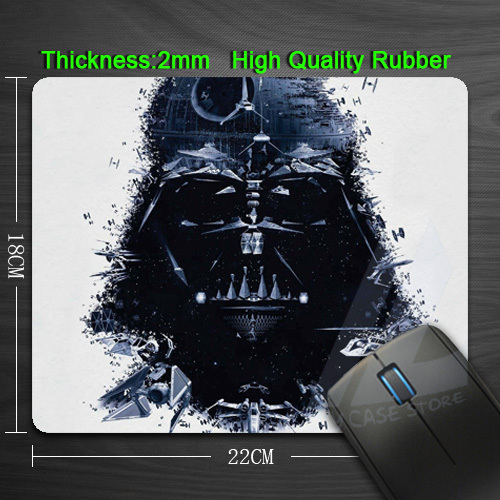 Гаджет  Free Shipping Iron Star Wars Silicon Anti-slip Mouse Mats for PC Computer Laptop Notbook Gaming Mouse mat None Компьютер & сеть