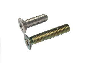 M2 * 16 machine screw Cross recessed countersunk head screws Flat head Carbon steel 4000pcs<br><br>Aliexpress