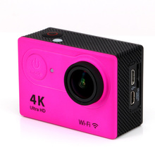 Ultra Full HD Upgrated 4K H9R WIFI Action Cameras 1080P 2.0 LCD 170 Lens with 2.4G Remote Control Mini Sports Video Camcorders(China (Mainland))