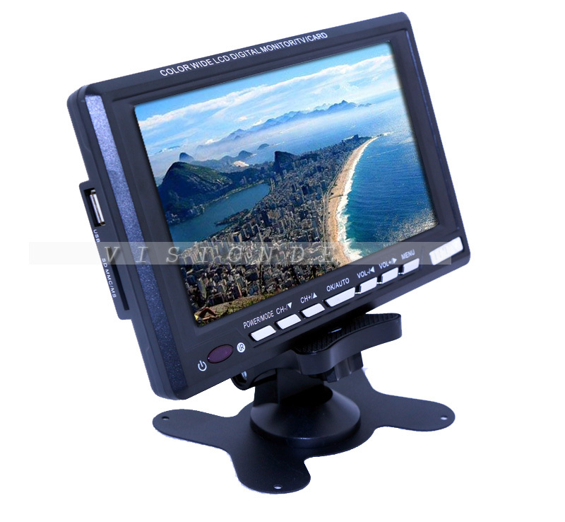 2014 Consumer Electronics LCD TV Mini Television Portable 7 8 inch TFT LCD Color TV With
