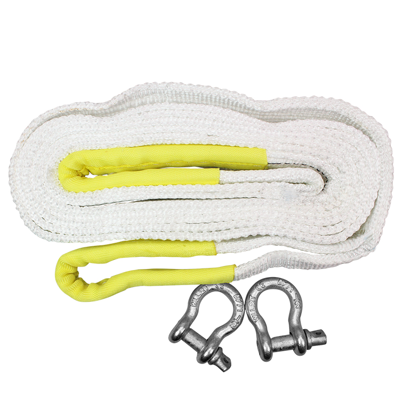 Car tow rope 5 m 8 tons thickening car trailer hove(China (Mainland))