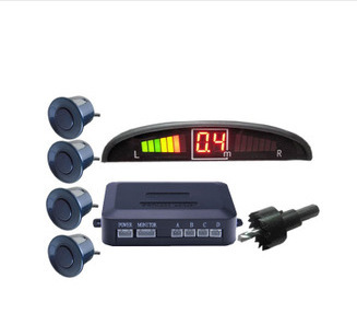 Car detector Car Parking System with 4 Alarm parking sensor and parking LED Display for all cars,Car parking assist with sensors(China (Mainland))