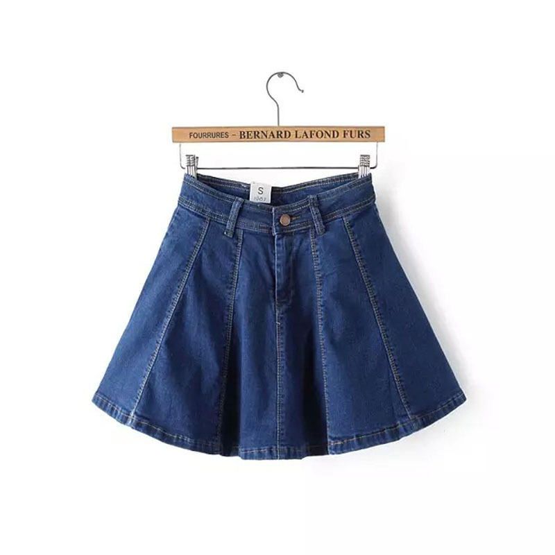 Awesome  Skirts Womens With Hole Denim Skirt Saia Jeans Women Short Skirts