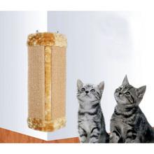 New Design Plush Pet Cat Scratch Board Cat Pet Toy Box Bed Protect Cat Paw Furniture Cat Litter Catnip(China (Mainland))