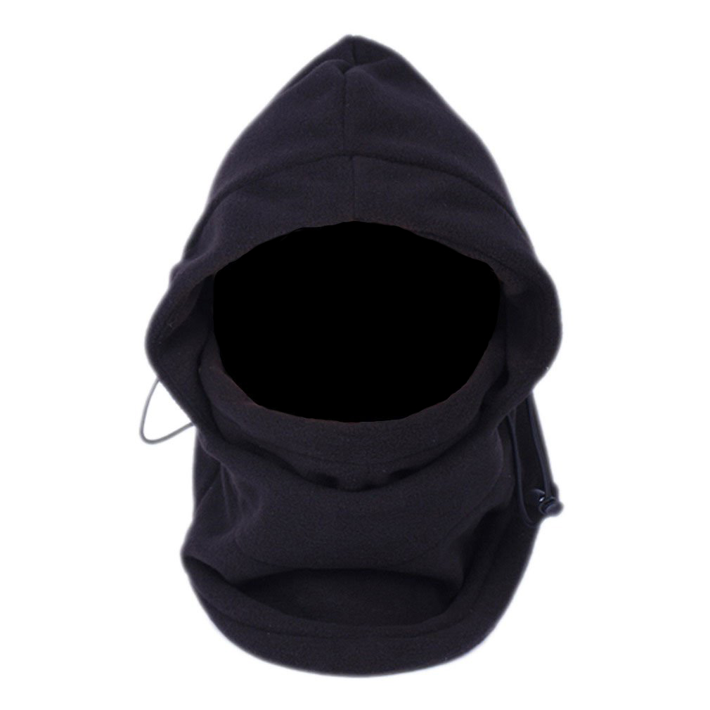 Full face mask neck warmer hood balaclava outdoor winter sports hats - Hot Sumdirect 6 In 1 Thermal Hat Bike Wind Stopper Face Mask New Caps Neck Warmer