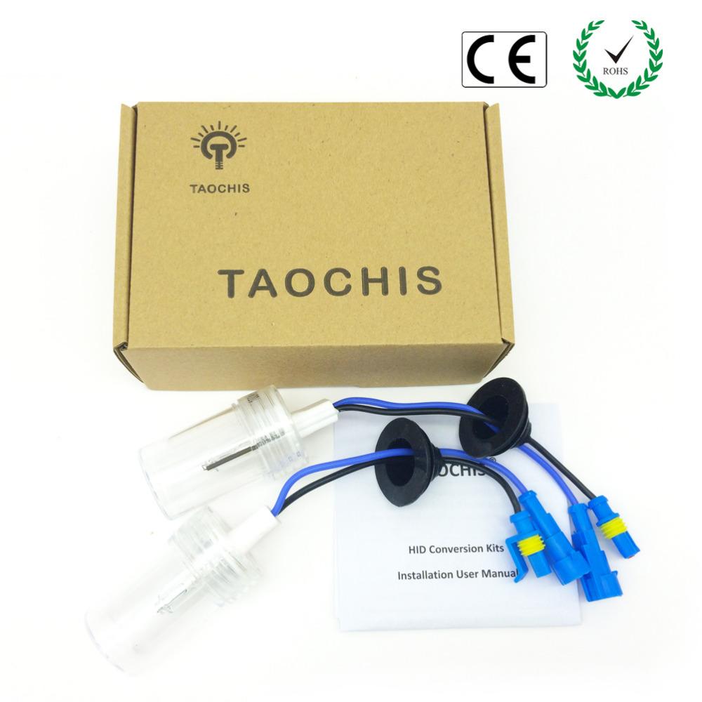 Taochis 12V 75W XENON H7 HID Car Replacement Lights 4300k 5000k 6000k 8000k 10000k Front Bulb Xenon Car Auto Headlight(China (Mainland))