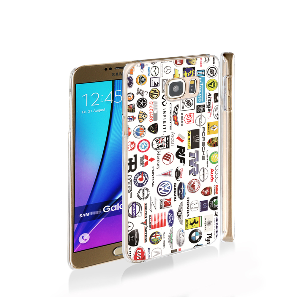 14066 car brands names cell phone case cover for Samsung Galaxy Note 3,4,5,E5,E7 CORE Max G5108Q(China (Mainland))