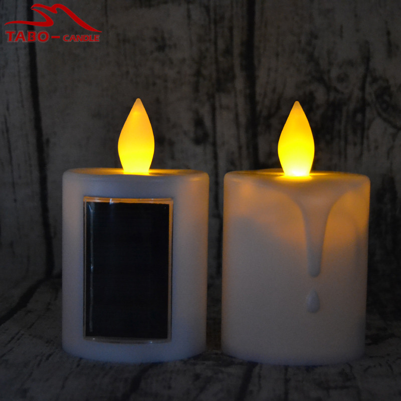 solar powered candle lights