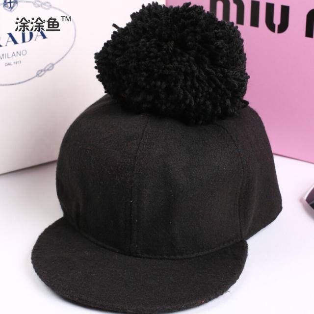 Шерстяные махрово ребенок крышки Snapback малыш хип-хоп крышка для мальчика Hat для девочек зажигания для детей бейсбол шляпы ребенка Snapback верховая езда