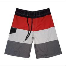 2018 Designer de Impressão Quente de Verão Board Shorts Casual Homens Quick Dry Praia Shorts Men Plus Size 30-38(China)
