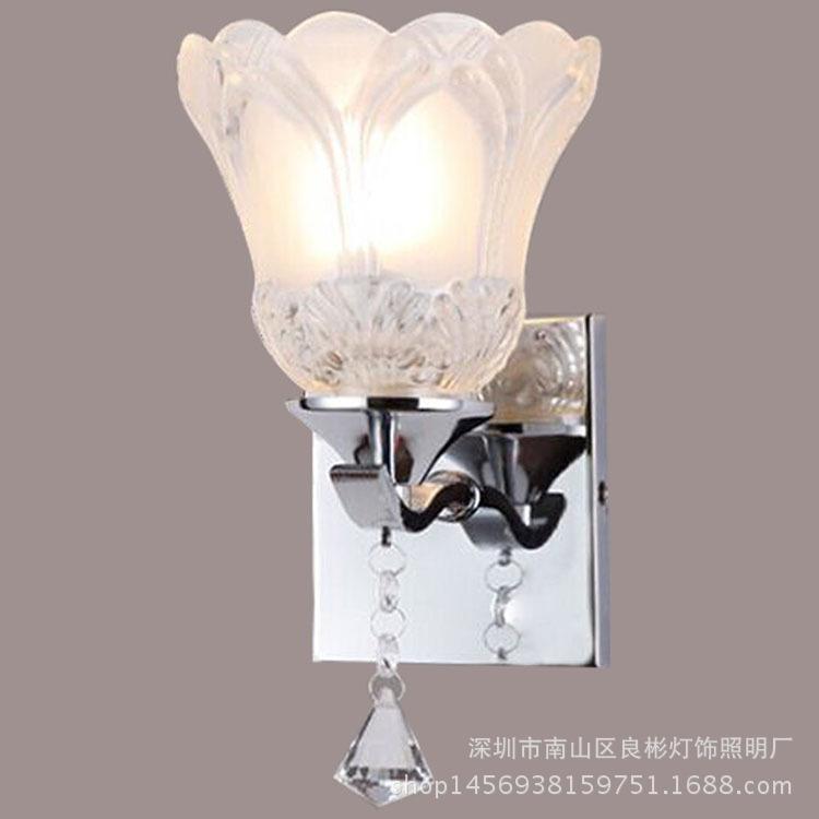 Фотография R Modern minimalist LED bedroom bedside lamp wall lamp switch room staircase aisle lamp project indoor lighting