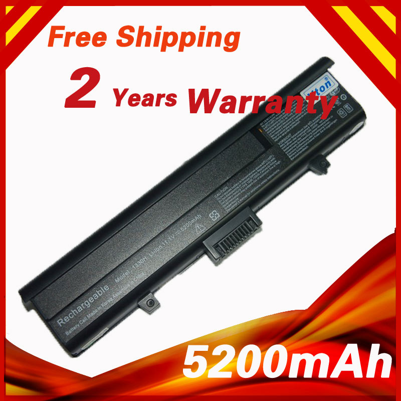 5200mAh Laptop Battery For dell Inspiron 1318 XPS M1330 312-0566 312-0739 451-10473 TT485 WR050 312-0566 312-0567(China (Mainland))