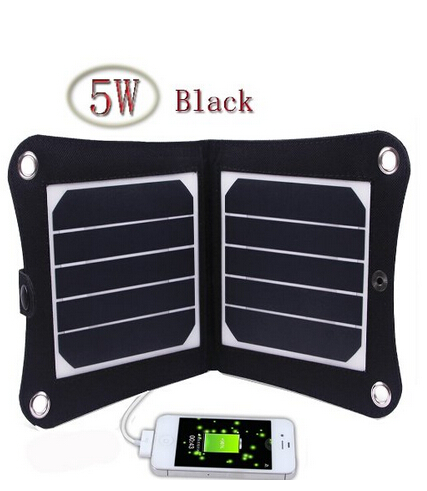 5w 5v portable solar panel charger outdoor usb digital frame style solar charger for iphone samsung android 5v device