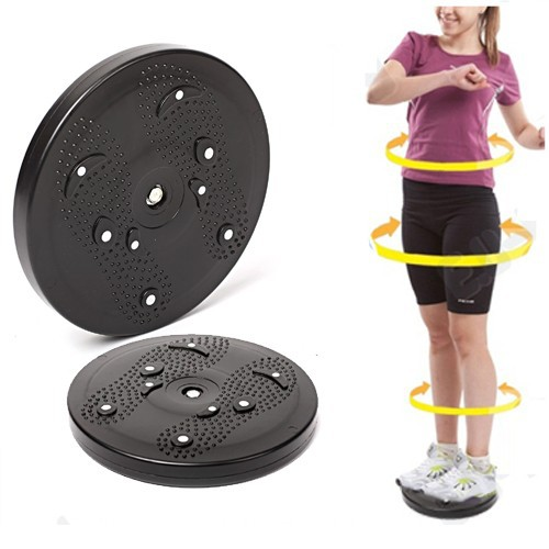 Fitness non-slip plastic balance board drive to the waist twister disk abdominal exerciser health functional training equipment(China (Mainland))
