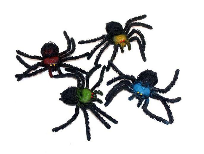 Funny Halloween Toys Spider Simulation Toys Tricky Scary Toy Prank Gift Model Strange New Toy Prank for Children(China (Mainland))